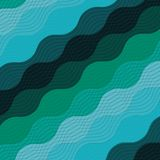 Water waves background icon Royalty Free Stock Photos