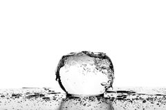 Water waves in the cup Stock Photography