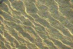 Water waves in day light Royalty Free Stock Image