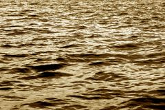 Water waves of a large river Royalty Free Stock Photography
