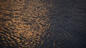 water waves  on sunset stock video footage