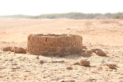 Water well. In the desert Royalty Free Stock Photos