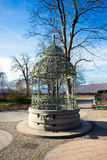Water well cistern on Schlossberg hill in Graz city Royalty Free Stock Photos