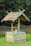 Water well close up. New water well close up Stock Image