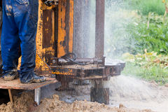 Water well stock photography