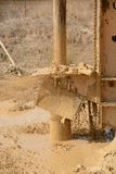 Water well drilling Royalty Free Stock Image
