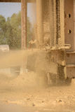 Water well drilling details Royalty Free Stock Photos