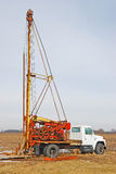 water well drilling rig stock photography