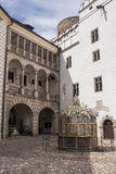 Water well in Jindrichuv Hradec castle, Czech Republic Royalty Free Stock Photography