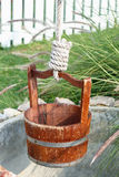 Water Well With Pulley Royalty Free Stock Photo