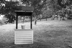 Water Well on a Rural Farm Royalty Free Stock Images