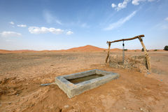 Water well in Sahara Desert, Morocco. North Africa Stock Photography