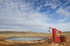 Water Well And Stock Tank Stock Photos