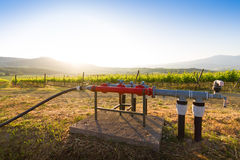 Water well in Tuscany, Italy Stock Photos