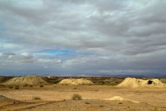 Water wells in Sahara Royalty Free Stock Photo
