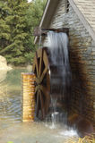 Water Wheel. A small time water wheel royalty free stock photography