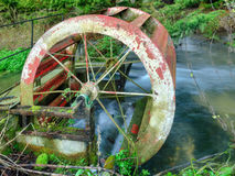 Water Wheel Stock Photography