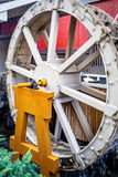 Water wheel - closeup Stock Images