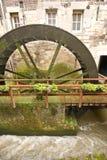 Water-wheel duży kręcenie Obrazy Royalty Free