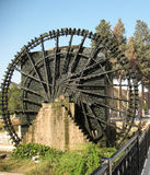 Water wheel in Hama (Syria) Royalty Free Stock Photo