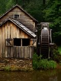 Water wheel mill Stock Images