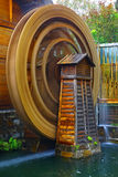 Water wheel in motion Royalty Free Stock Photography