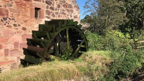 Old Water Wheel Mill stock video