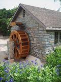 Water Wheel Outside Rustic Building Stock Photos