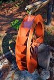 Water Wheel Replica Campos do Jordao Brazil Stock Photos