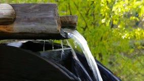 Water wheel stock video