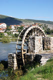Water Wheel in Trebinje Stock Image