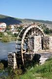Water Wheel in Trebinje Stock Image