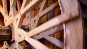Water Wheel stock video footage