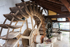 Water wheels in Esslingen Royalty Free Stock Photo