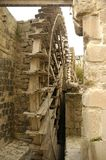 Water wheels at Hama. Noria - Water wheels at Hama, Syria Stock Images