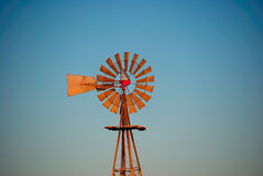 Water Windmill Blue Sky Royalty Free Stock Photo