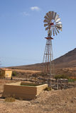 Water Windmill, Fuerteventura Stock Photos