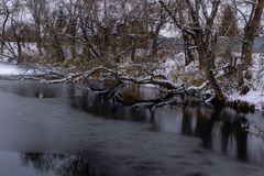 Water, Winter, Reflection, Nature royalty free stock photo
