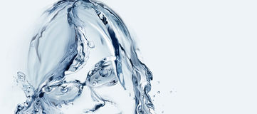 Water Woman with Glasses Stock Photography