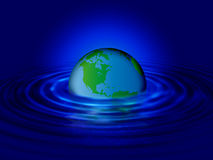 Water World Ripple Royalty Free Stock Photos