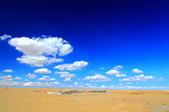 The Water Yardang Devil City, the world`s unique water yardang landform. Located in Qinghai province , China royalty free stock image