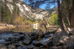Water in Yosemite park Stock Image