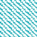 Zigzag Diagonal Ray Lines Seamless Pattern Vector Illustration
