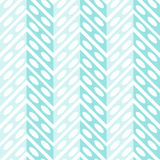 Water Zigzags Seamless Background. Blue water zigzag abstract pattern. Seamless Tile Stock Photography