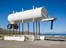 Wateraanhangwagen Stock Foto