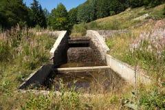 Waterafwatering Stock Afbeeldingen