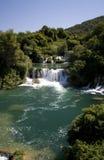 Wateralls de Krka Imagen de archivo