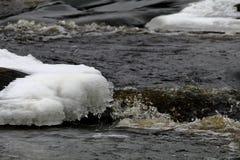 WaterandIce Fotografia Stock Libera da Diritti