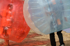Waterball Activity Royalty Free Stock Photo