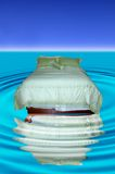 Waterbed abstrakt begrepp Royaltyfri Bild